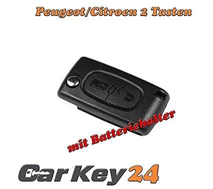 Peugeot llaves Carcasa en Blanco para 207 307 407 308 607 2 ...