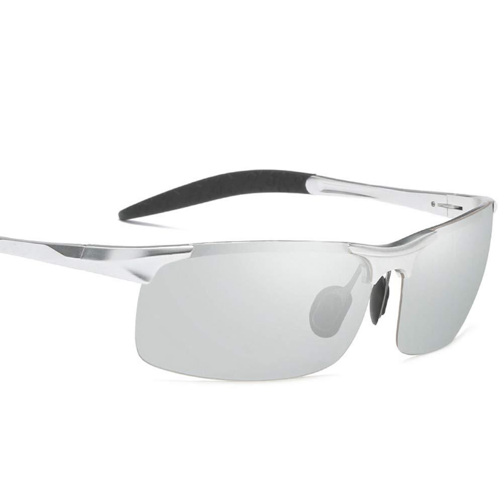 LIOOBO Gafas de Sol para Hombre Gafas de Sol con Marco de ...