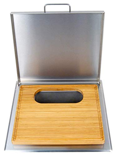 53816 Cut And Clean Combo Trash Chute With Cutting (Trash Built Chute In)