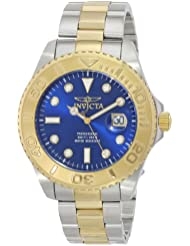 Invicta Mens 15181 Pro Diver Two-Tone Stainless Steel Watch