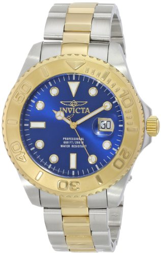 Amazon Lightning Deal 85% claimed: Invicta Men's 15181 Pro Diver Analog Display Swiss Quartz Two Tone Watch