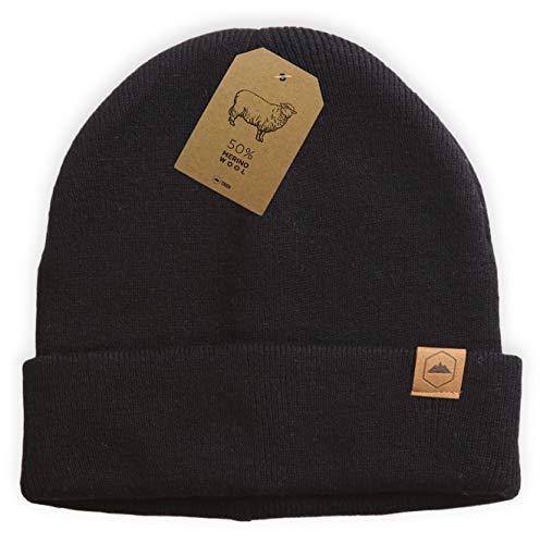 60655c439 Tough Headwear Cuff Beanie Watch Cap - Warm, Stretchy & Soft Knit ...