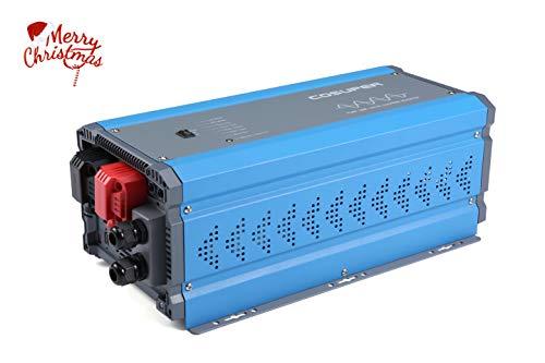 soyond 3000W Inverter Charger Dc 12v to Ac 120v Pure Sine Wave Power Inverter 9000W ()