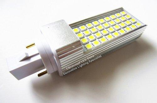 CBconcept Brand - LED G24 Base 7 Watt 520LM 36 SMD5050 LED 110V 120V 220V Fluorescent Bulbs Downlight Replacement Bulb - White - 85-265V AC -