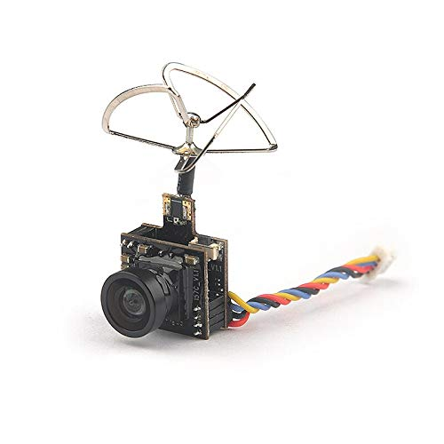 Part & Accessories Mini 5.8G Photography Camera Output Power 48CH 25MW 100MW Switchable Camera AIO FPV VTX HC48DS Camera for Indoor FPV RC Parts ()