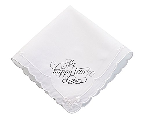 Lillian Rose Wedding Happy Tears Keepsake Hankie Favor ()