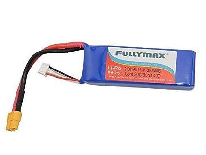 UUMART 2700mAh Lipo Battery Spare parts for Cheerson CX-20 CX20...