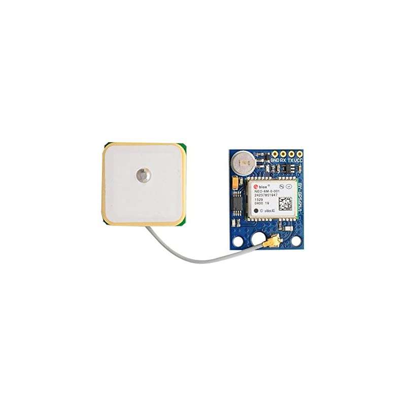 DIYmall NEO-6M GPS Module with EEPROM for MWC/AeroQuad with Antenna for  Arduino Flight Control Aircraft