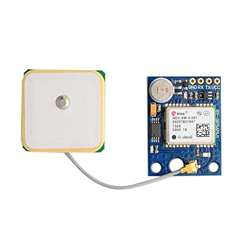DIYmall NEO-6M GPS Module with EEPROM for MWC/AeroQuad with Antenna for Arduino Flight Control Aircraft by DIYmall