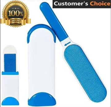 Pet Hair Remover and Lint Remover, Fur Remover, Pet Hair Removal Tool, Dog Hair Remover, Pet Hair Removal Cat Hair Remover Lint Removal Double-Sided Brush Removes Pet Hair from Clothes & Furniture Cat Pet Clothes