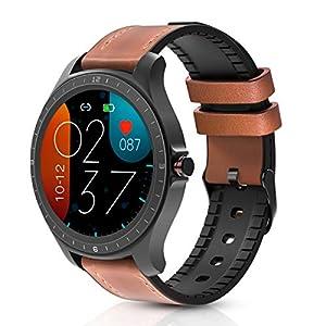 BlitzWolf Smart Watch, 1.3 inch Full Touch Screen Smartwatch IP67 Waterproof Fitness Tracker Sport Watch Heart Rate…