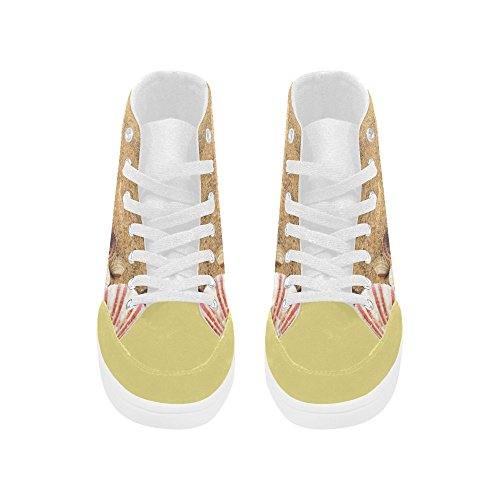 InterestPrint Starfish High Top Shoes For Women fGAz9