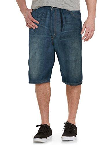 569 Loose Straight Jean Shorts (Levi's Men's Big-Tall 569 Loose Straight Short, Springstein, 50)