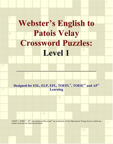 Download Webster's English to Patois Velay Crossword Puzzles: Level 1 PDF