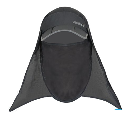 Outdoor Sun Hat/Man and woman fishing Cap/Summer sunhat/Mosquito-proof face-covering caps/Riding a scanning frequency caps/Hiking hats-A