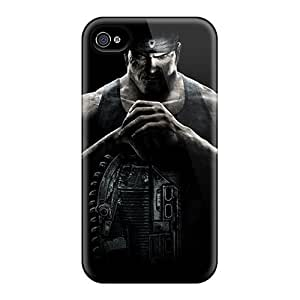 Hot Style CPA867jGde Protective Case Cover For Iphone4/4s(gears Of War3 Marcu)