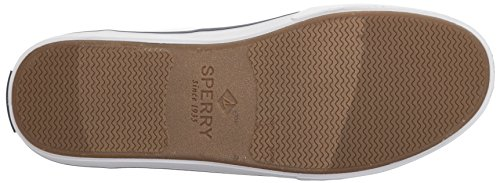 Sperry Top-sider Mens Bahama Ii Boot Gewassen Sneaker Wit