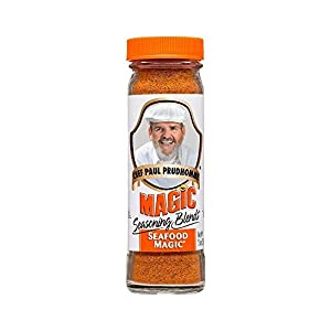 Well-Being-Matters 41v5X9rW%2B7L._SS300_ Chef Paul Prudhomme's Magic Seasoning Blends ~ Seafood Magic, 2-Ounce Bottle