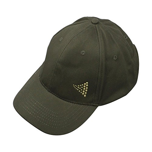 Adorna Chic Luxury Women's Baseball Cap 100% Cotton Structured Body - Cristal Green