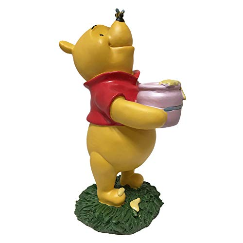 Winnie The Pooh, Large 10.5 Inch Tall Statue, Hand Painte, Official Disney Licensed Product