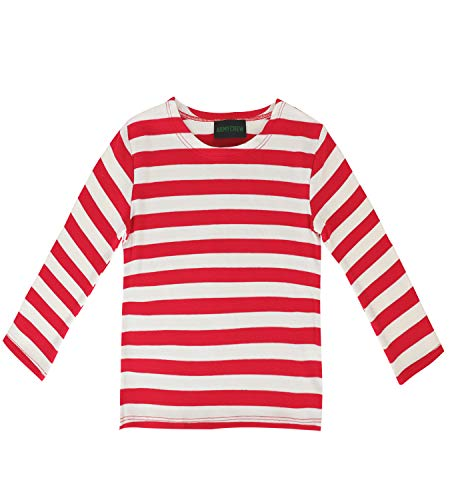 Armycrew Kids Red White Stripe Cotton Shirt - Toddler (2-4yr)