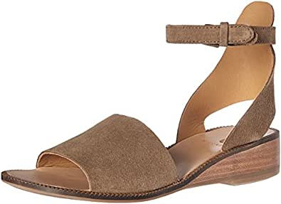 Amazon Com H By Hudson Women S Fifa Suede Wedge Sandal