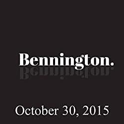 Bennington, Jim Florentine, October 30, 2015