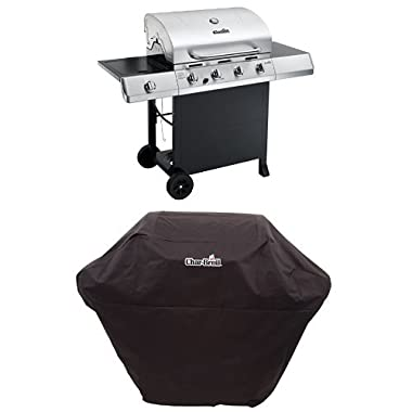 Char-Broil Classic 4-Burner Gas Grill + Cover