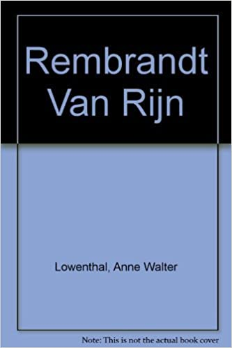 rembrandt van rijn medaenas monograph on the arts