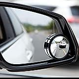 "Ampper Blind Spot Mirror, 2"" 360 Degree Adjustabe"