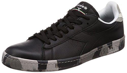 Waxed Uomo Game Camou Diadora Low Nero Sneaker wCnqTfnxOE
