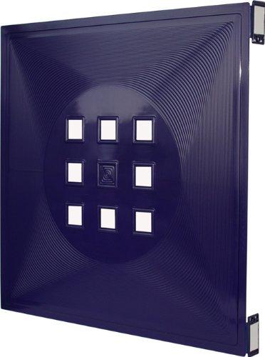 33,6cm x 33,6cm f/ür IkeaRegal Expedit+Kallax Hellgr/ün 4er Set Designer Regalt/ür als Facheinsatz ca