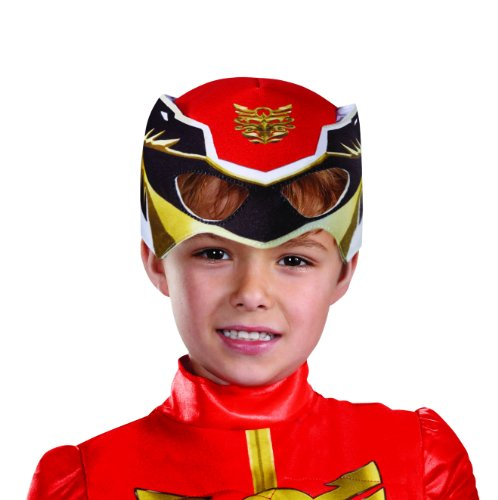 Disguise Power Rangers Megaforce Red Ranger Muscle Costume, 3T-4T