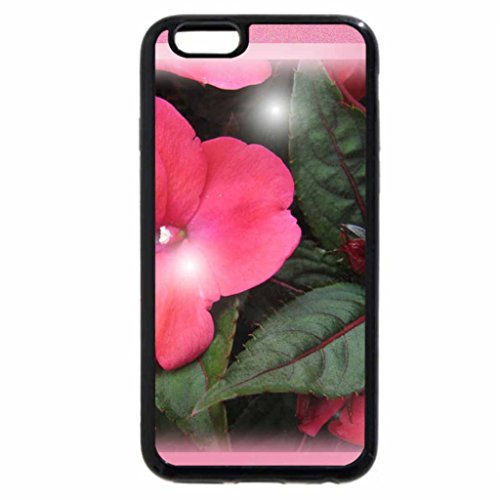 iPhone 6S / iPhone 6 Case (Black) Knock-out Rose