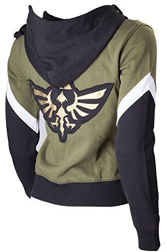 [The Legend of Zelda Link Hooded Coat Cosplay Costume (Unisex:X-Large, StyleB)] (Princess Zelda Cosplay Costume)