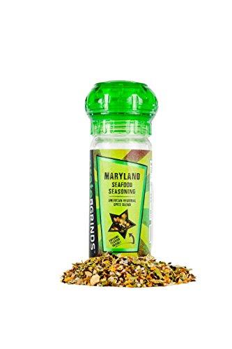 Maryland Seafood Seasoning Spice Grinder Bottle