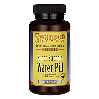 Swanson Super-Strength Water Pill 20 Milligrams 120 Capsules