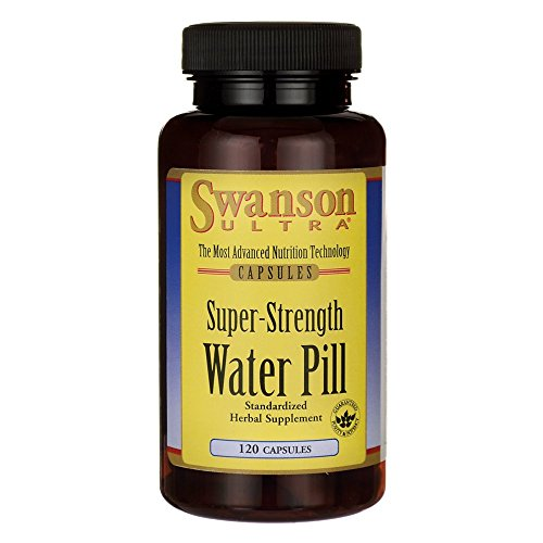 Swanson Super-Strength Water Pill 20 Milligrams 120 Capsules