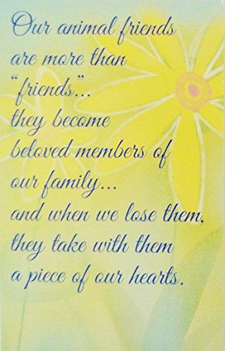 Loss of Pet Greeting Card -