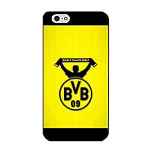 Simple Style Borussia Dortmund Skin Case for Iphone 6 Plus/6s Plus 5.5 Inch Dortmund Logo