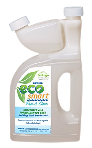 Thetford 64 Ounce 94029 Eco-Smart Free and Clear Holding Tank Deodorant-64 oz