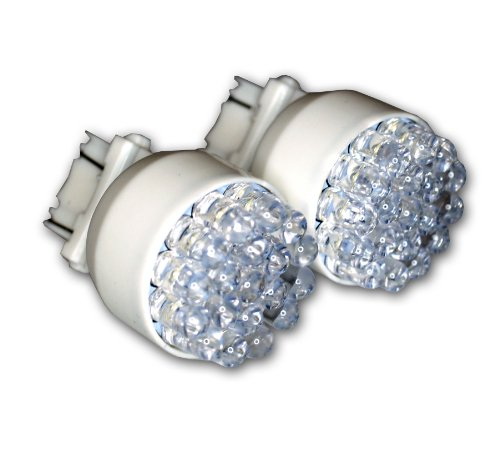 7-W19 Front Signal LED Light Bulbs 3157, 19 LED White 2-pc Set ()