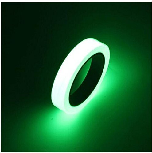 Luminous Tape Sticker Removable Waterproof Photoluminescent Glow in the Dark Safety Tape … (196.85