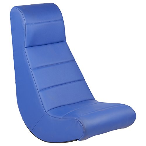 ECR4Kids SoftZone Ergonomic Horizontal Soft Video Rocker, Blue