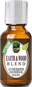Best Earth & Wood Blend Oil - 100% Pure Earth & Wood Blend Essential Oil