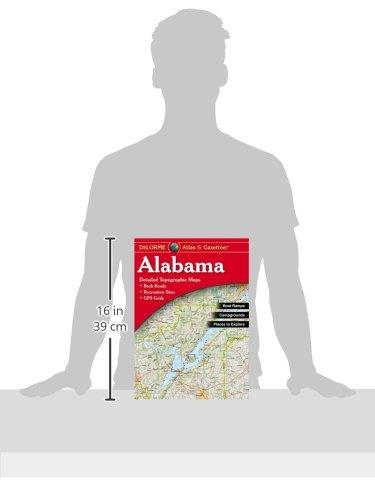 Garmin DeLorme Atlas & Gazetteer Paper Maps- Alabama, AA-001487-000