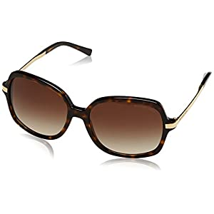 Michael Kors MK2024 310613 Dark Tortoise Adrianna II Butterfly Sunglasses Lens