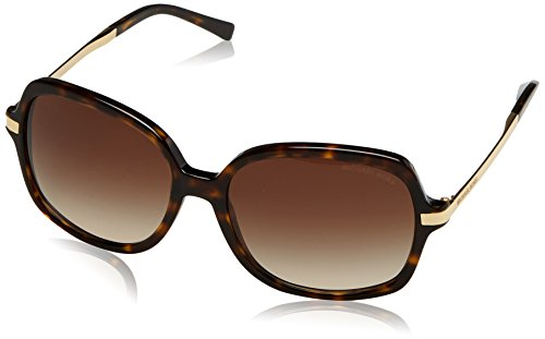 Michael Kors MK2024 310613 Dark Tortoise Adrianna II Butterfly Sunglasses - Sunglasses Michael Kors Womens