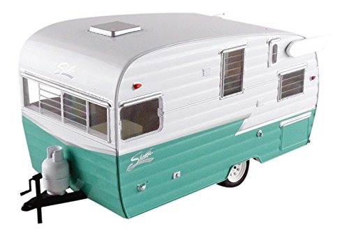shasta-airflyte-15-camper-trailer-green-for-1-24-scale-model-cars-and-trucks-1-24-by-greenlight-1822