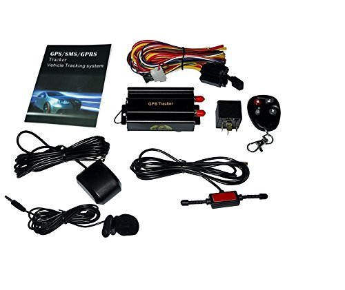 Vehicle Car Gps Tracker B With Remote Control Gsm Alarm Sd Card Slot Anti Theft